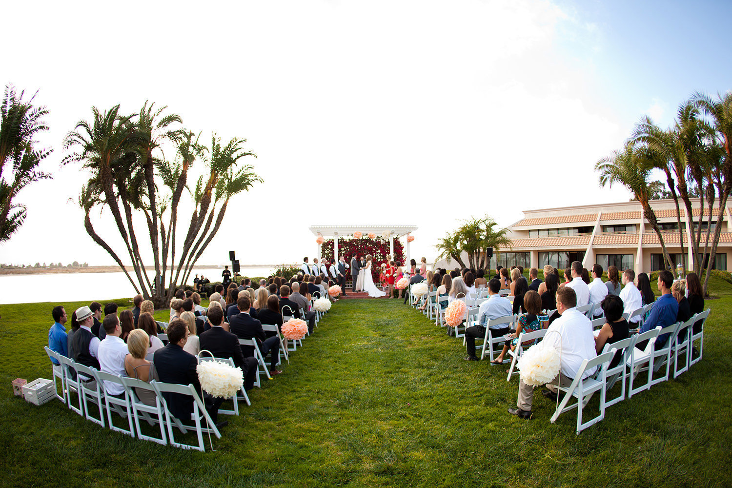 ceremony space at hilton mission bay