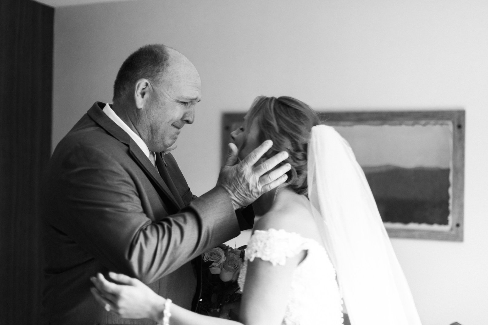 Plimoth plantation wedding father daughter first look