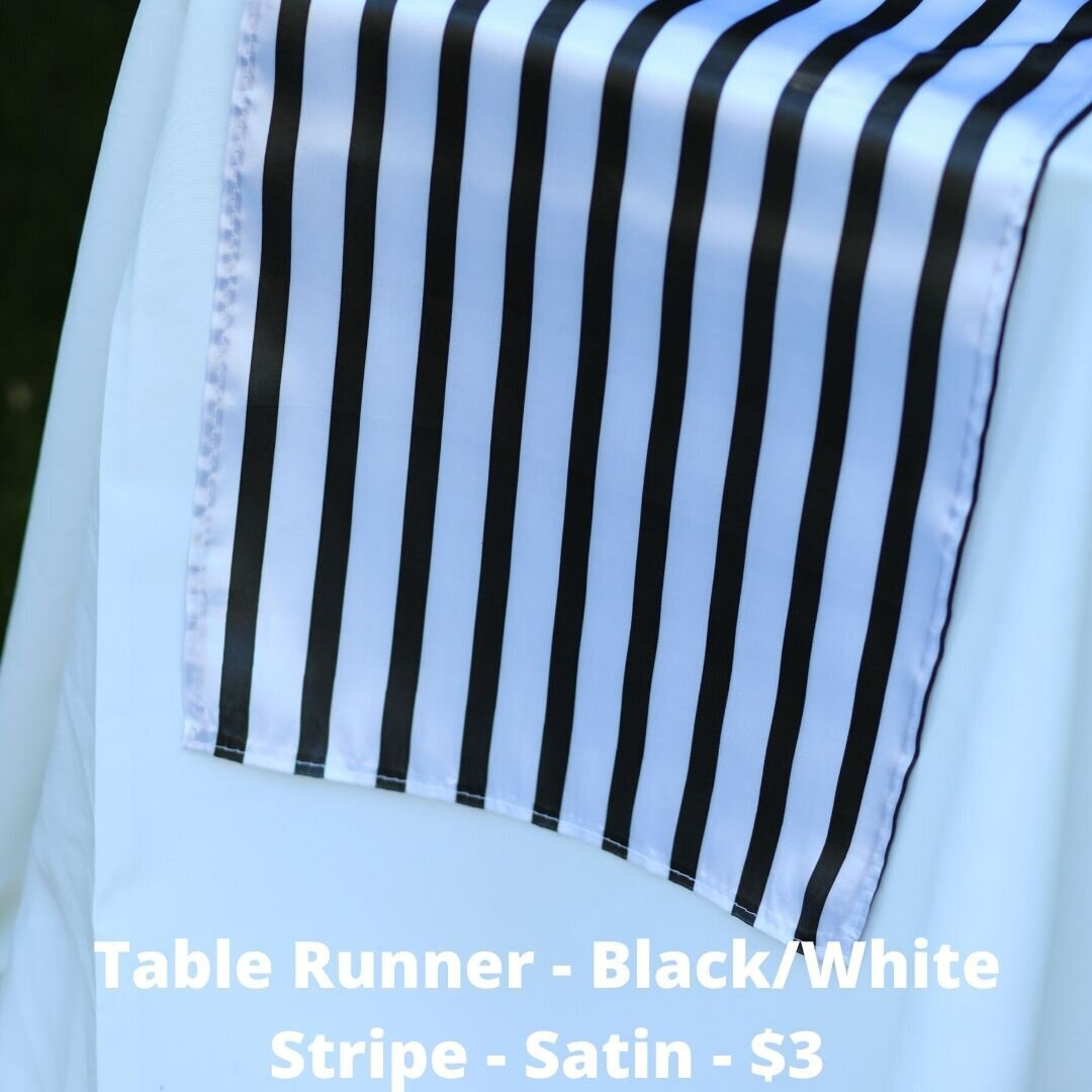 black white stripe