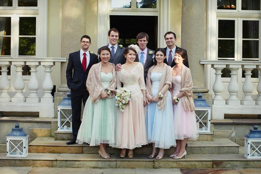 pastel_peach_lace_chiffon_wedding_dress_JoanneFlemingDesign (7)