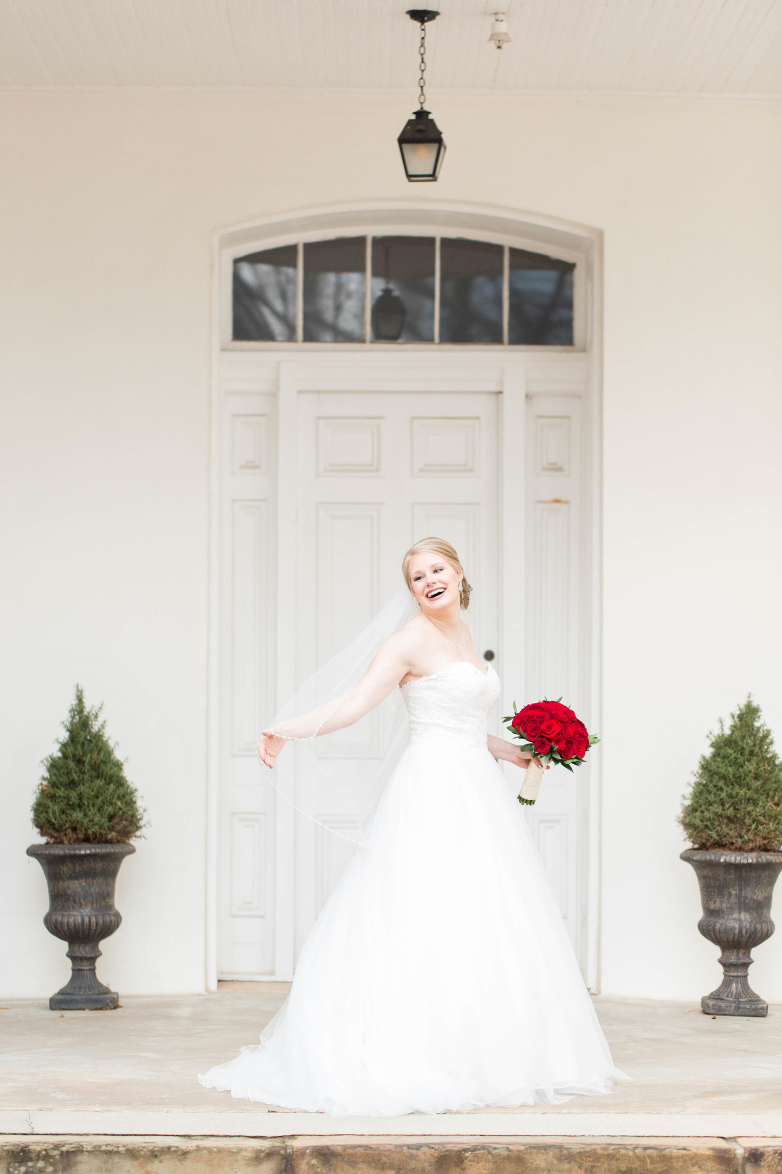 Old State House Little Rock Bridal Portraits