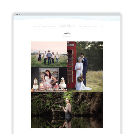 website designer for photographers