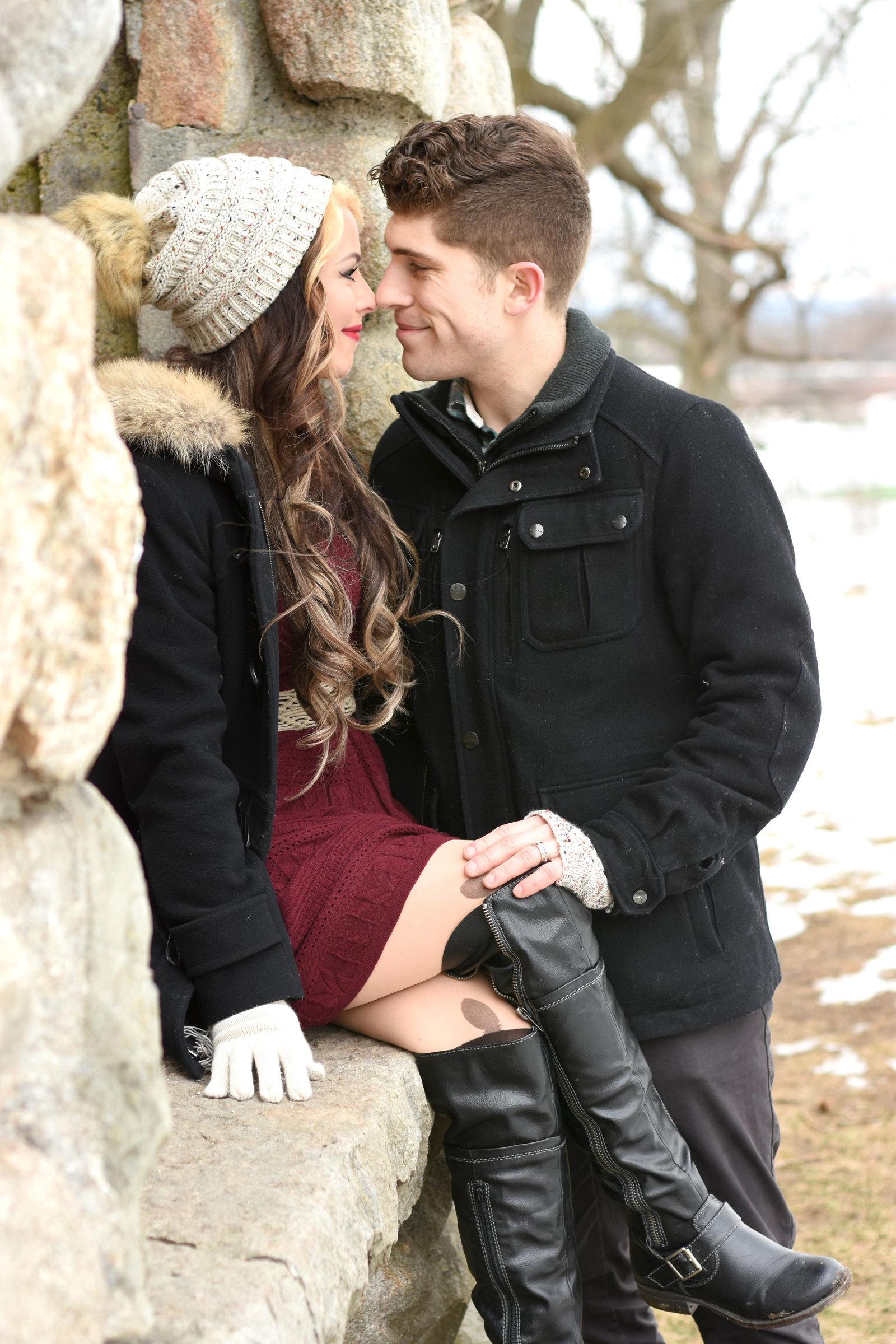 Winter Couple Photography