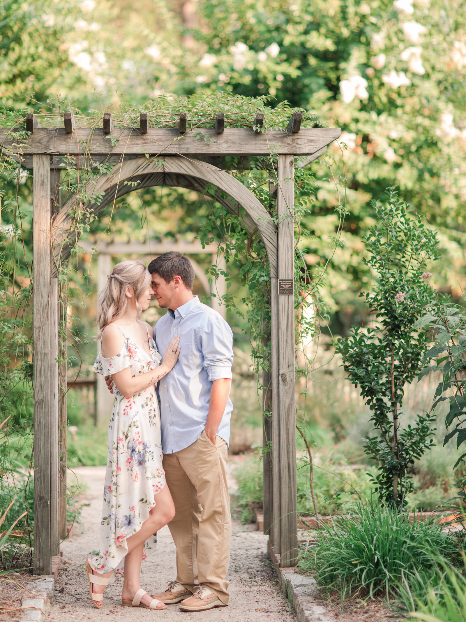 Jennifer B Photography-Sandhills Horticultural Gardens Engagement-Pinehurst NC-Cody and Kayla-2019-0064