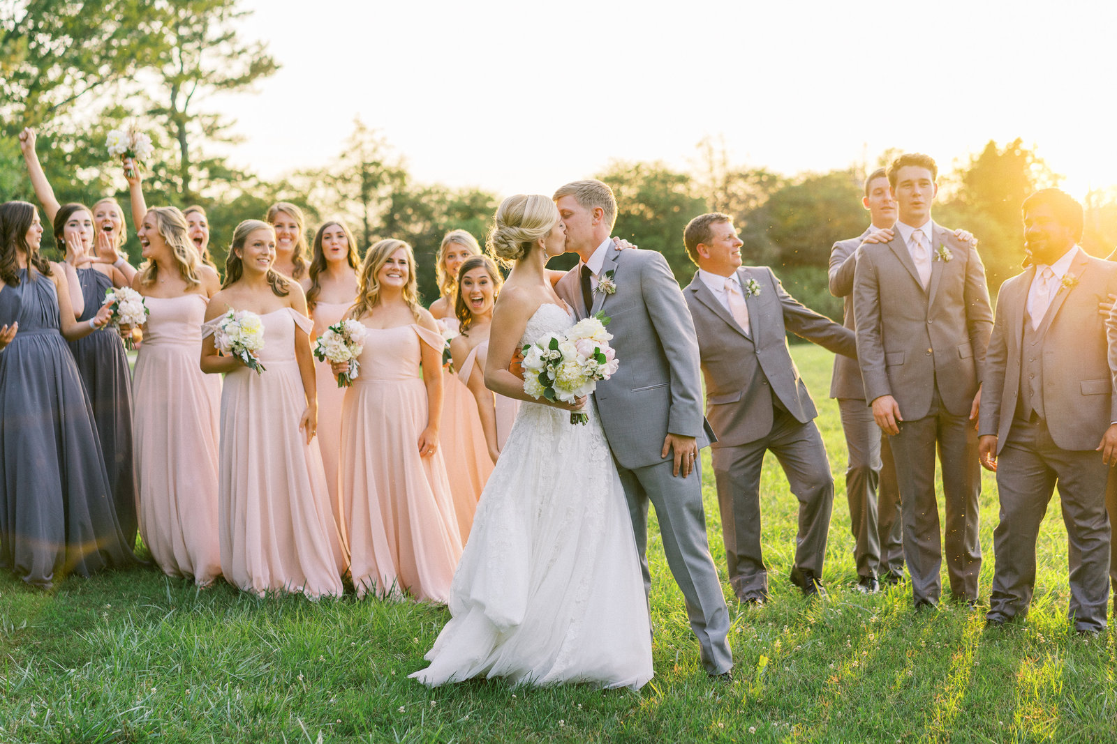 Summer Fearrington Wedding