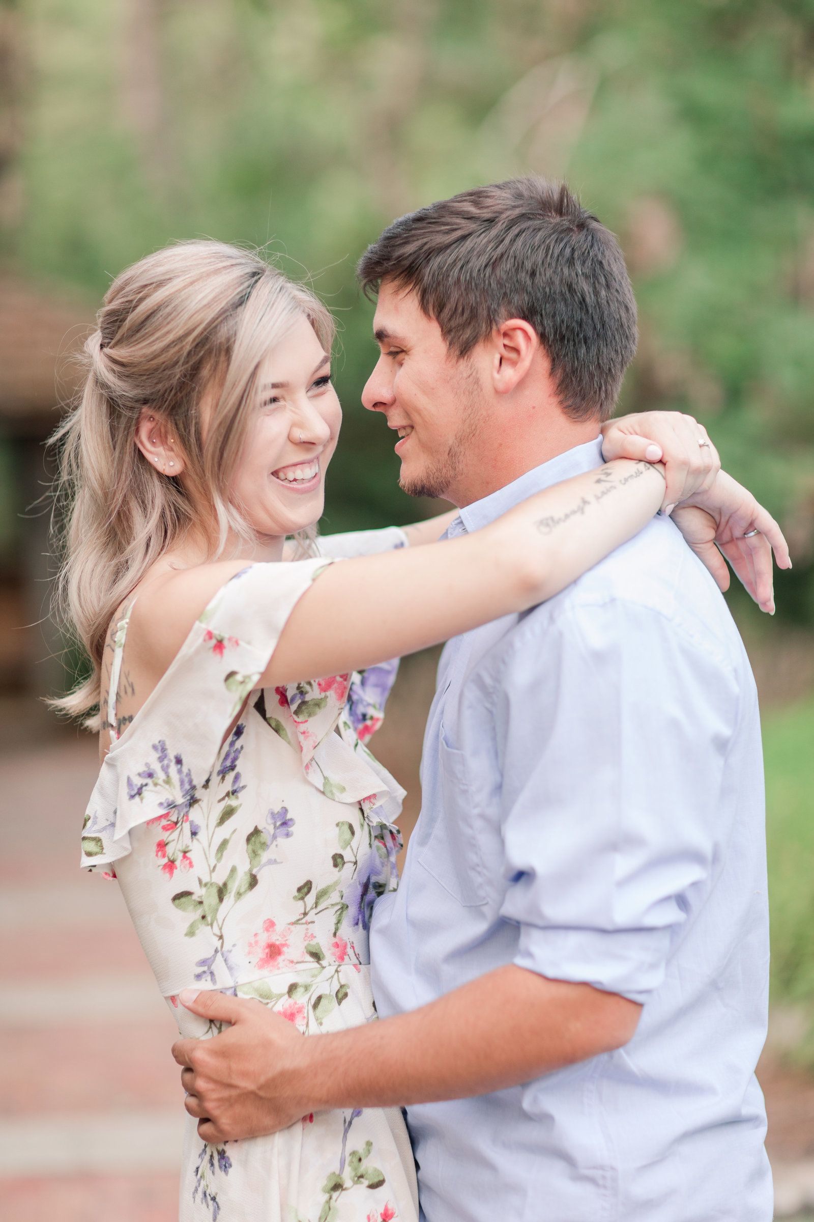 Jennifer B Photography-Sandhills Horticultural Gardens Engagement-Pinehurst NC-Cody and Kayla-2019-0050