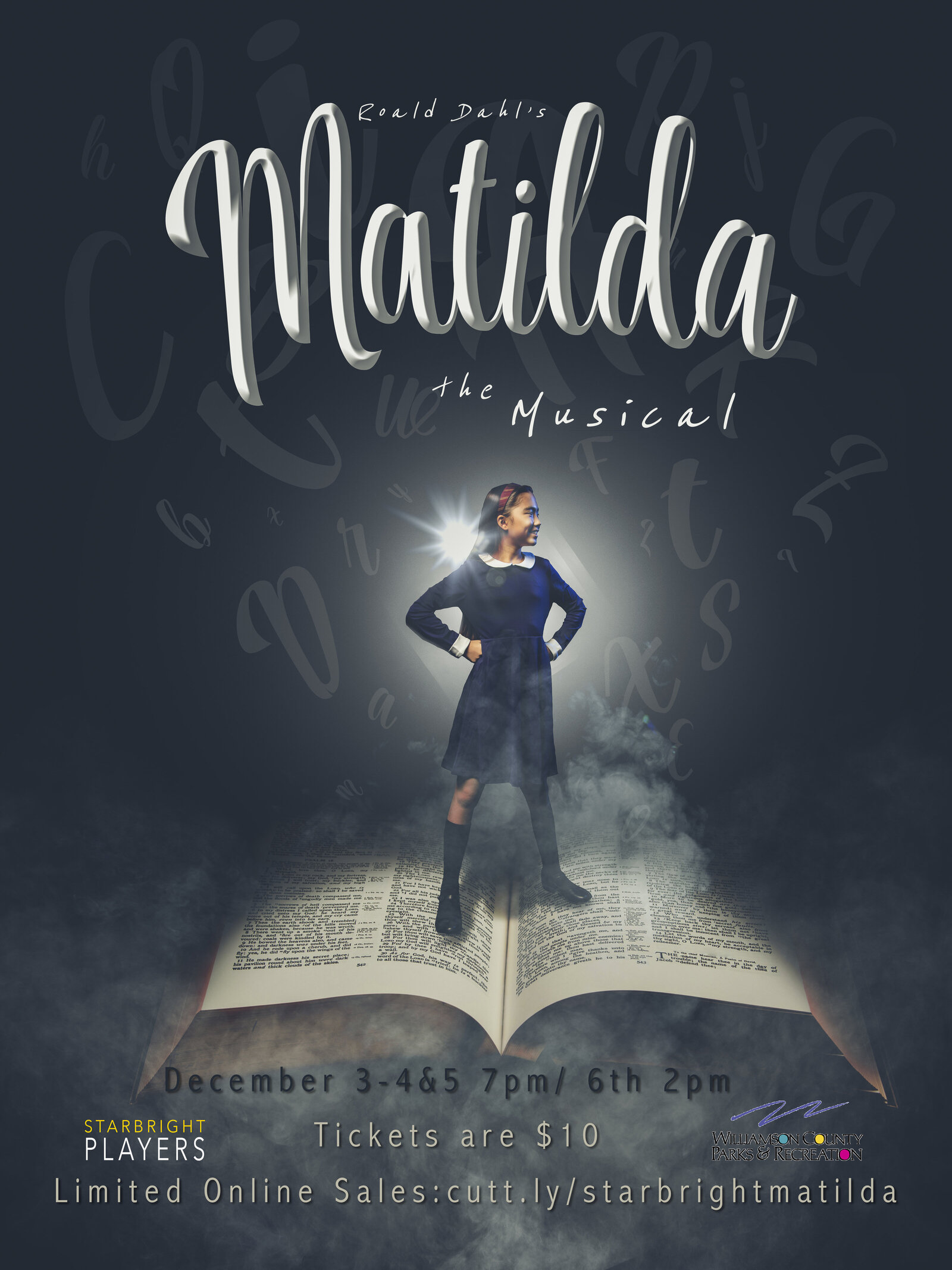 Matilda Poster with Info
