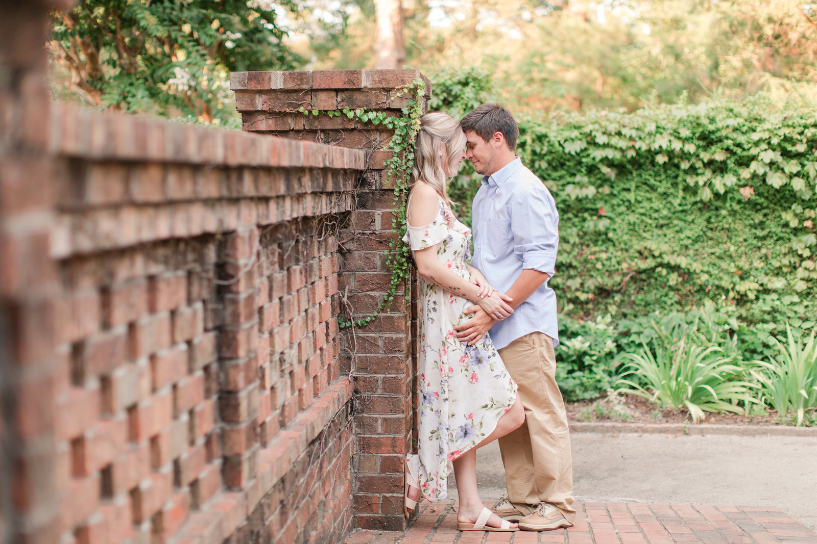 Jennifer B Photography-Sandhills Horticultural Gardens Engagement-Pinehurst NC-Cody and Kayla-2019-0090