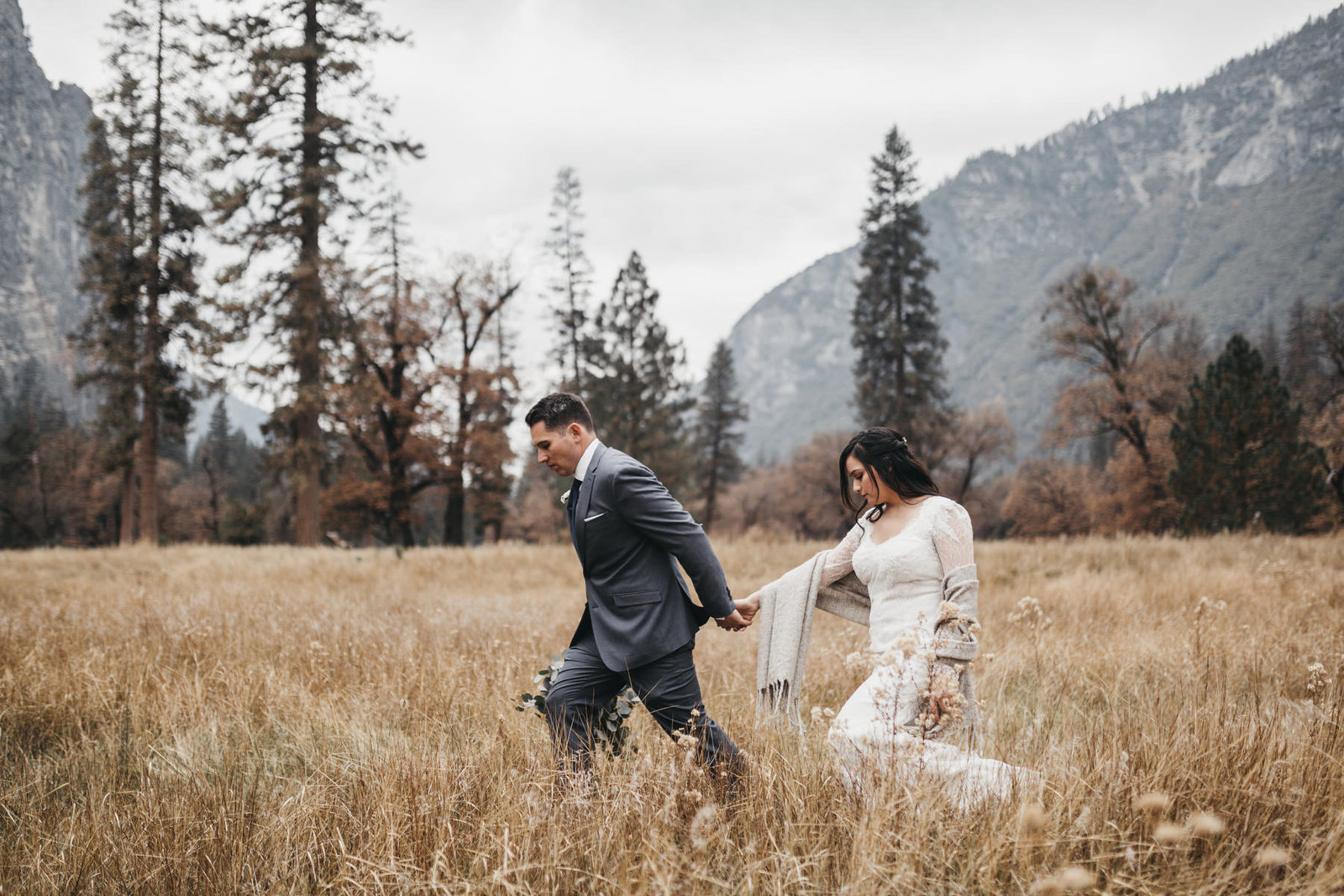 athena-and-camron-yosemite-elopement-wedding-photographer-elegent-valley-wedding25-couple-goals-walking-candid