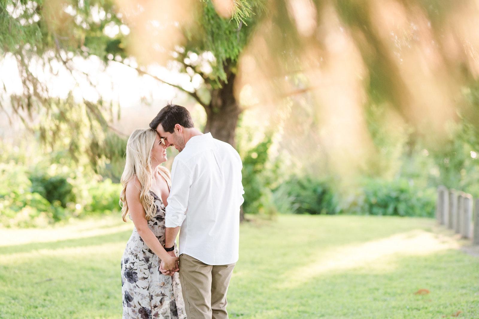 A Dallas Engagement Photo At White Rock Lake