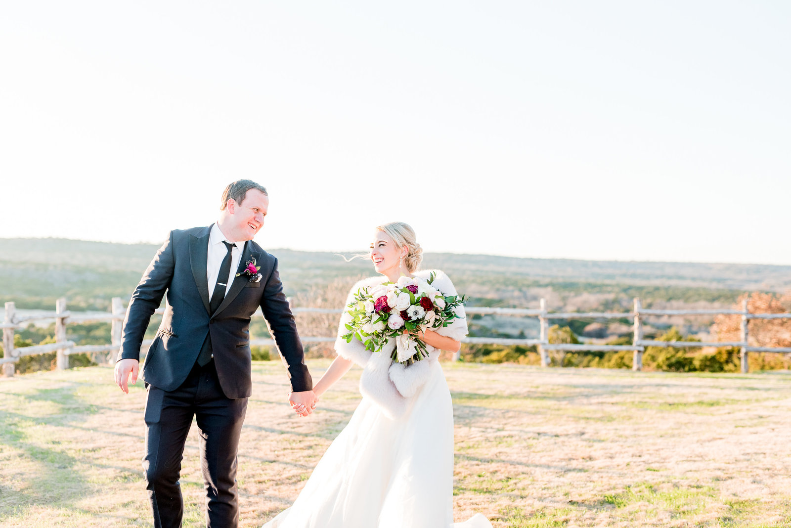 dove ridge vineyard wedding in dallas