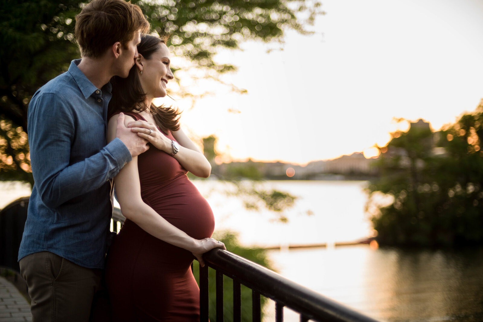Charles River Maternity session