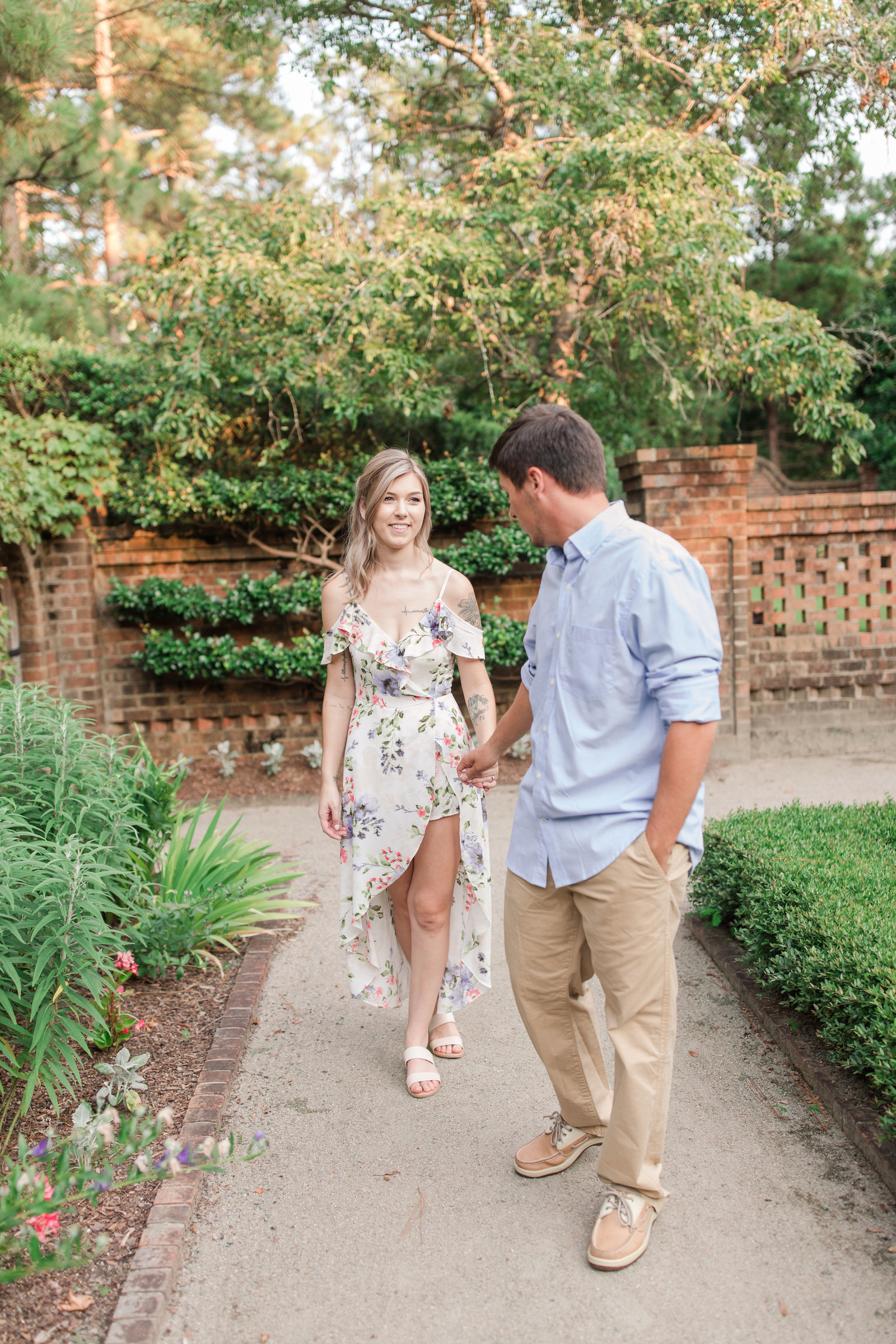 Jennifer B Photography-Sandhills Horticultural Gardens Engagement-Pinehurst NC-Cody and Kayla-2019-0139