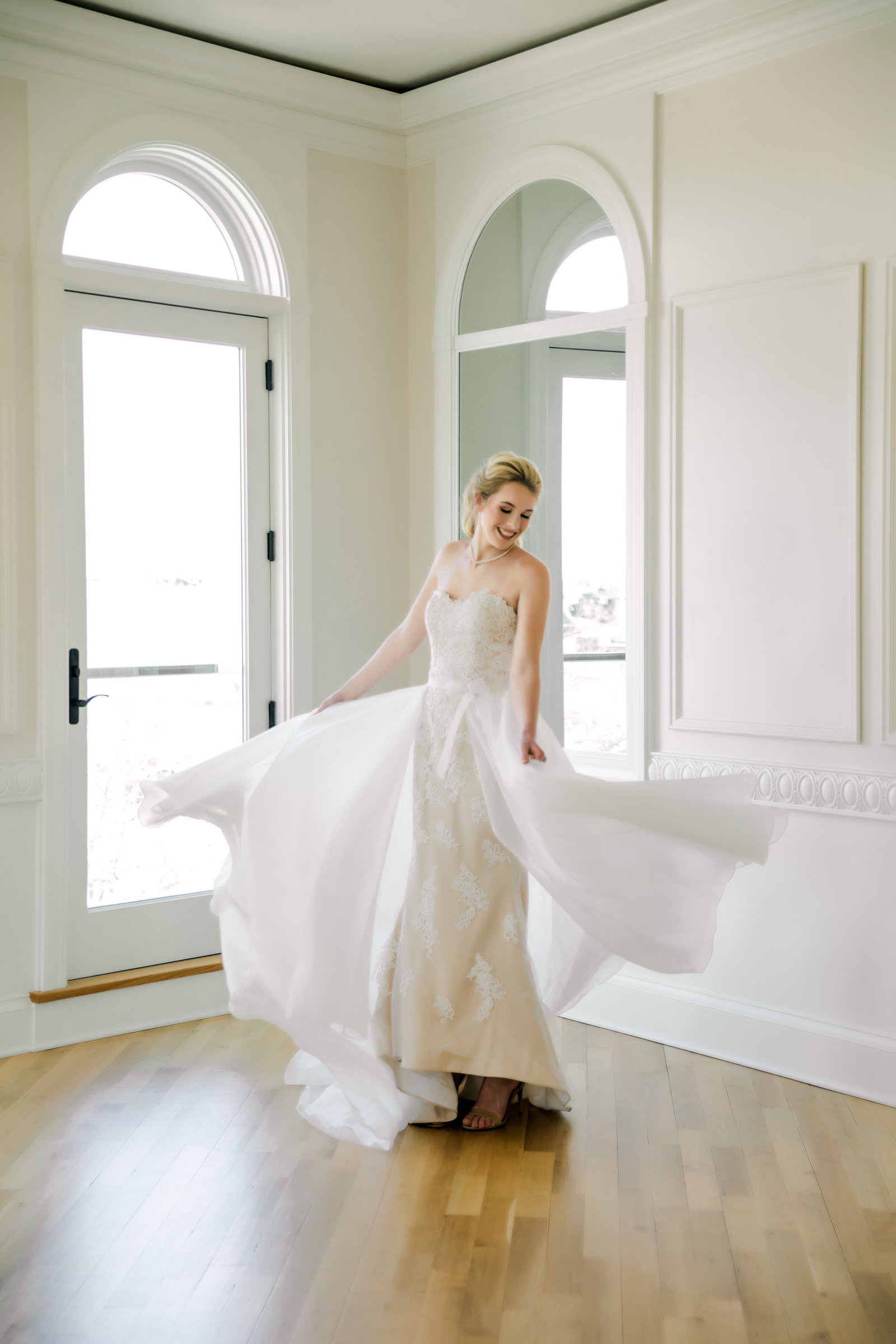 Newport bridal portraits