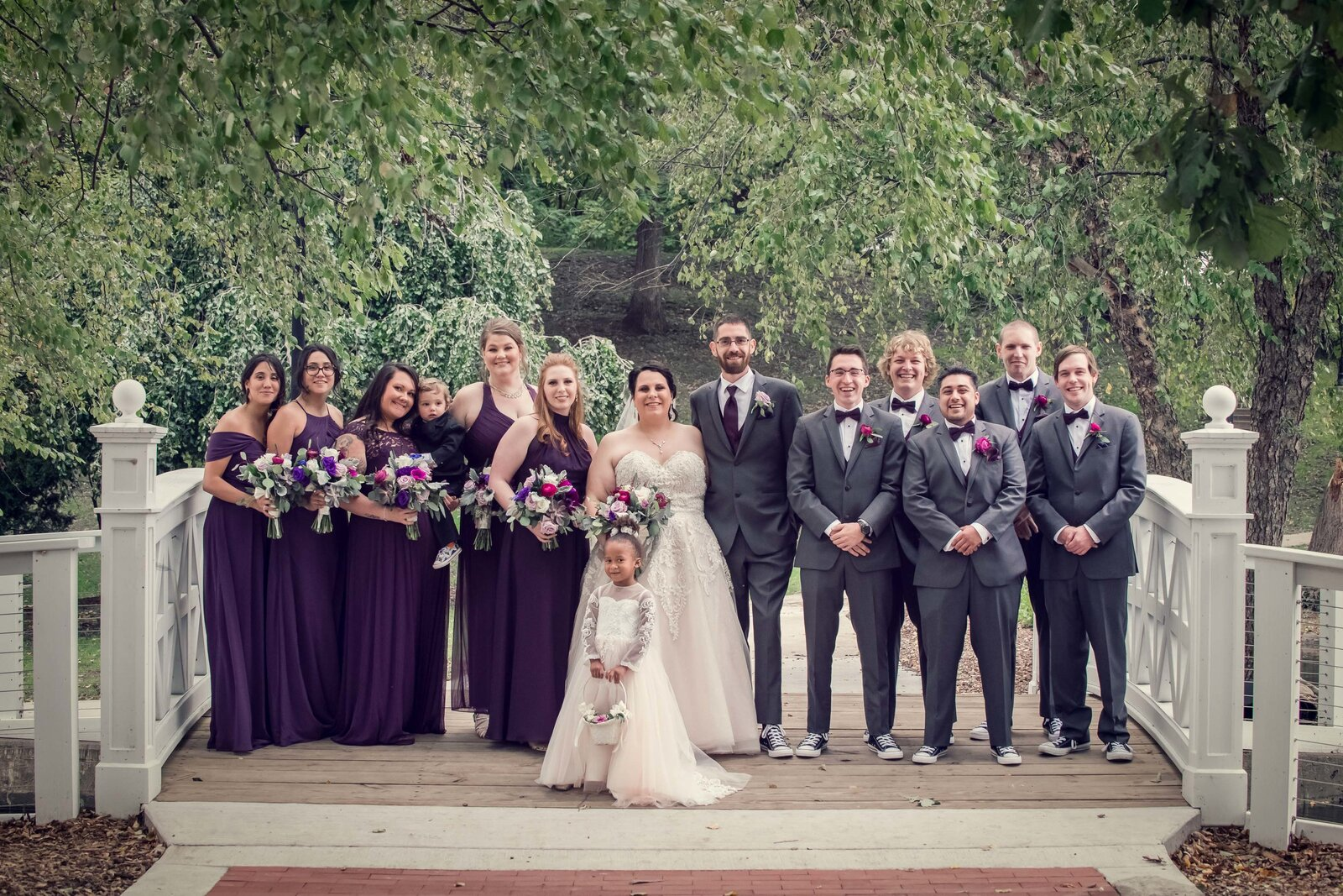 wedding-bridal-party-bride-groom-portrait-lords-park