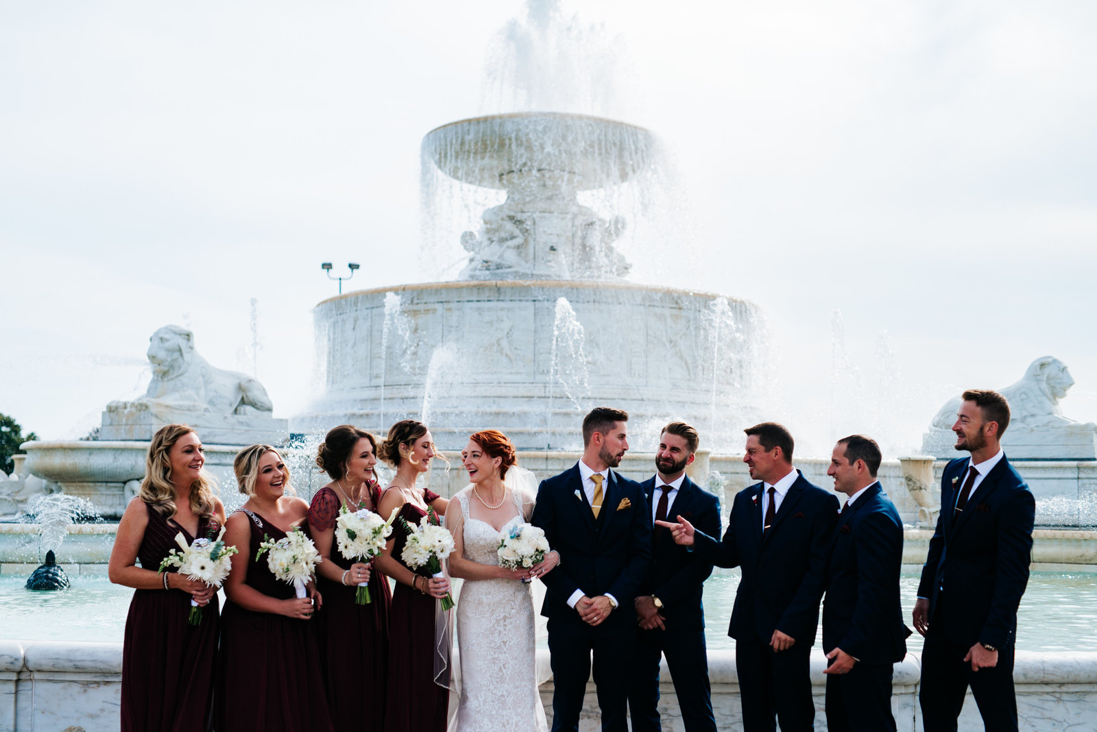 Michigan Wedding Photographer, Detroit Wedding, Belle Isle Conservatory Wedding