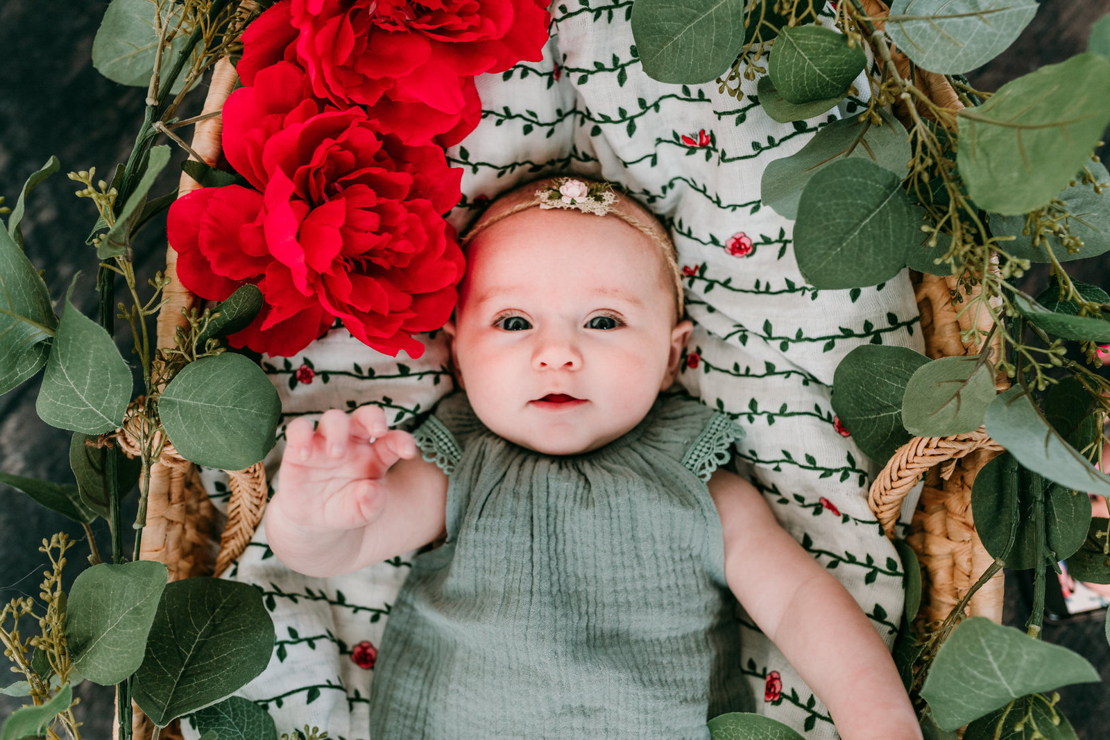 Brooklynn three month photos