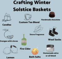 Winter Solstice Baskets