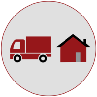 Remove Staging Moving Truck and Home Icon