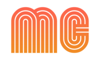 mc logo orange pink