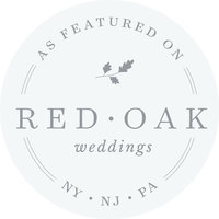 red oak weddings featured wedding vendor badge