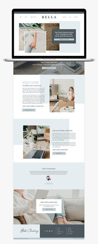 Girlboss-Designer-Bella-Website-Template-Blues