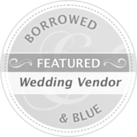 Featured Wedding Vendor on Borrowed & Blue