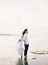 bali pre wedding beach