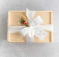 Custom Gift Boxes for couples looking to gift their out of town guests!