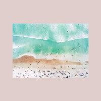 Shop My Home - Beach Print