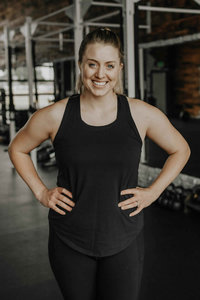 Coach MIssy Tacoma Vie Athletics Strength and Sisterhood Gym in Puyallup, South Hill, Bonney Lake, Washington