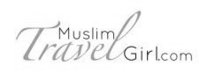 Muslim Travel Girl Logo