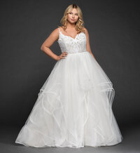 1870 Pepper - Blush by Hayley Paige  - Janene's Bridal