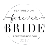 Featured on Forever Bride Badge