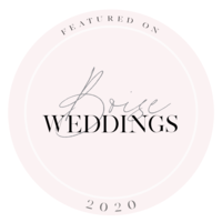 Featured on Boise Weddings in 2020