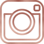 rose gold instagram icon