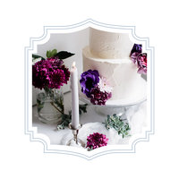 Garden-Wedding- Cake-Hummingbird Occasions