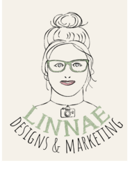 logo for LINNAE designs & marketing