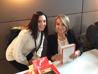 Idit Sharoni with Esther Perel