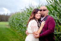 Corn Maze Engagement Session Chapman Farms in Brady WA by Juli Bonell Photography