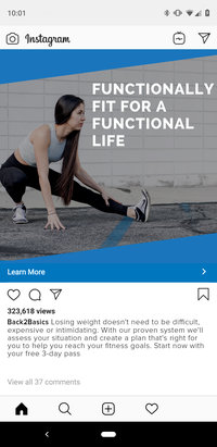 Functional Gym Ad