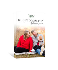 Bright Color Pop Product Box
