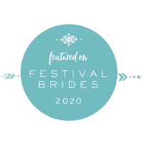 festival+brides+badge+