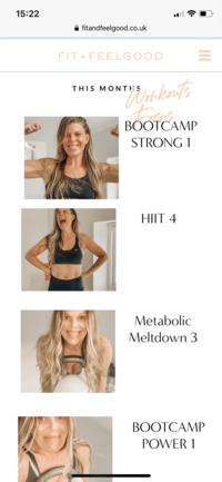 Fit and Feelgood | Home workouts