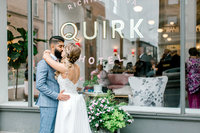 Chic Quirk Hotel Wedding Allison and Binit