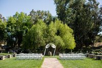 Ceremony site at Lake Oak Meadows Wedding Venue in Temecula