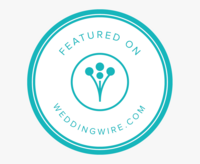 badge wedding wire