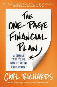The One Page Financial Plan Carl Richards The rock/star advocate suz paulisnki