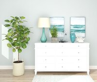 Costal inspired console table