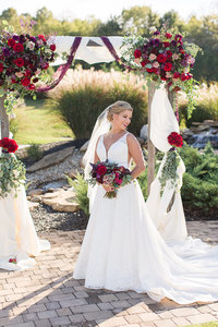 Wedding-Bride-Portraits-Fall-Flower-Arch-Tuckers-Gap-Center-Photo-By-Uniquely-His-Photography002